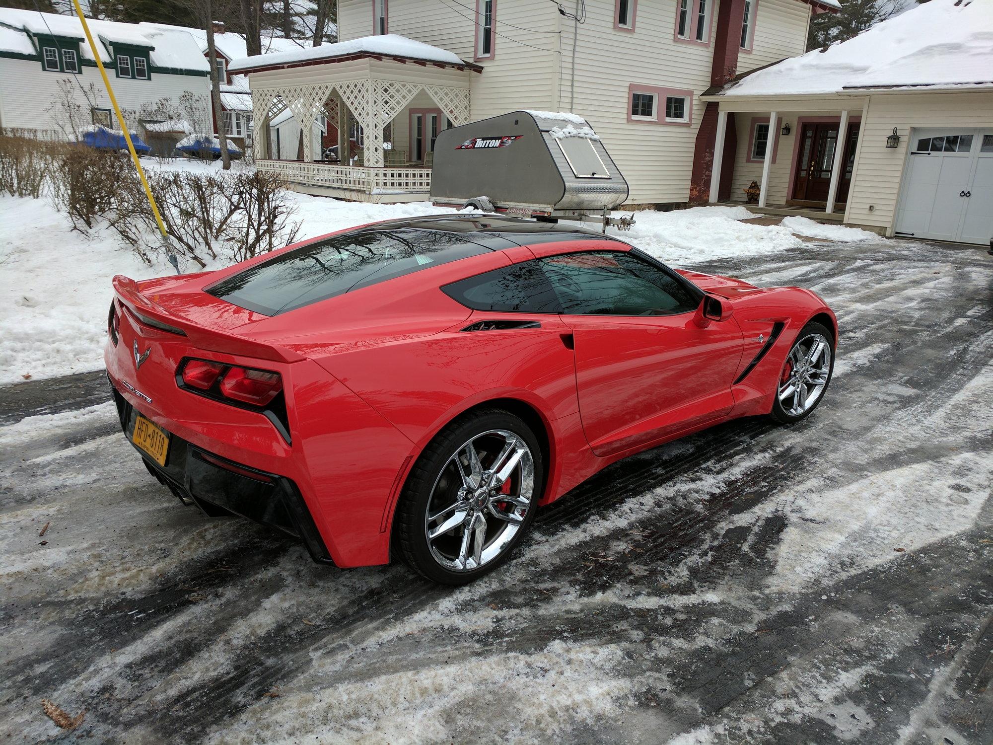 Anyone Paint The Edges Of Your Transparent Roof Panel Corvetteforum Chevrolet Corvette Forum Discussion