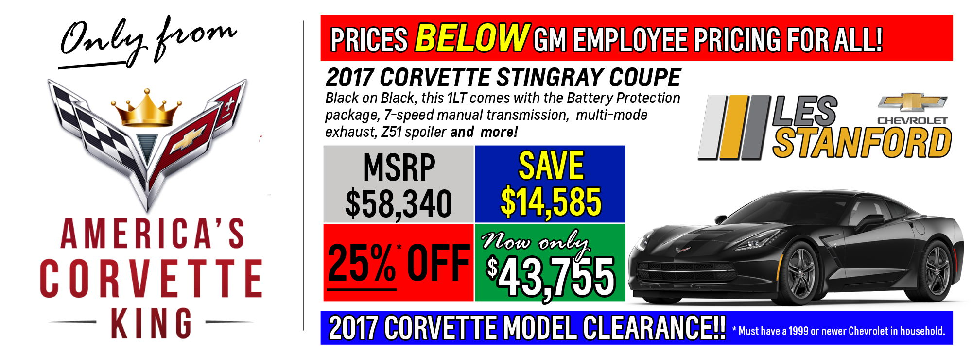 Motorcity Prices Available Nationwide Corvetteking Com 25