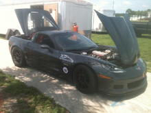 2009 ZO6 Complete build we install full cage, built LS7 motor coilover suspension sway bars Brembo brakes and we maintain and support this vehicle and race it SCCA, NASA, CHIN, PBOC