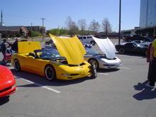 Hometown Buffet All Corvette Show