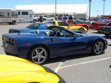 '05 Vert on a Mission Valley Corvettes & Cobras cruise to the Golden Acorn Casino.