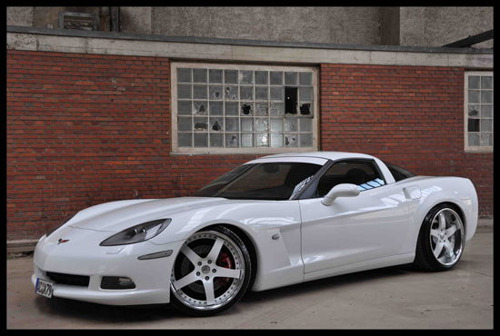Corvette On 22 Inch Rims Pictures To Pin On Pinterest