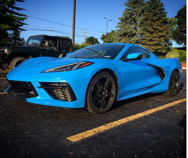 The Official Rapid Blue Thread Real Pics Corvetteforum