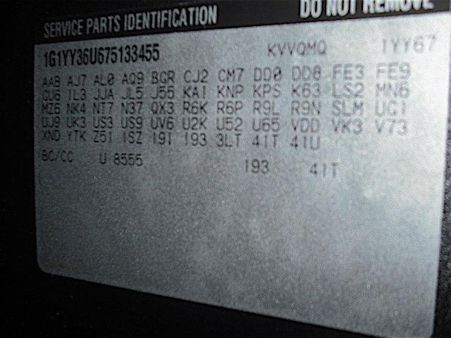 2007 Corvette RPO codes - CorvetteForum - Chevrolet Corvette