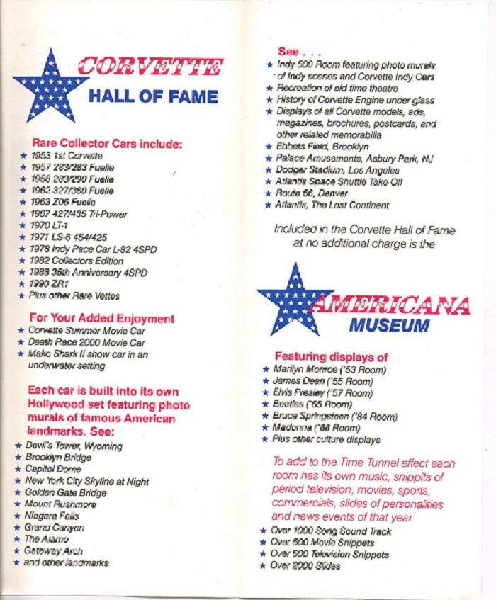 Corvette Americana Hall Of Fame - CorvetteForum - Chevrolet