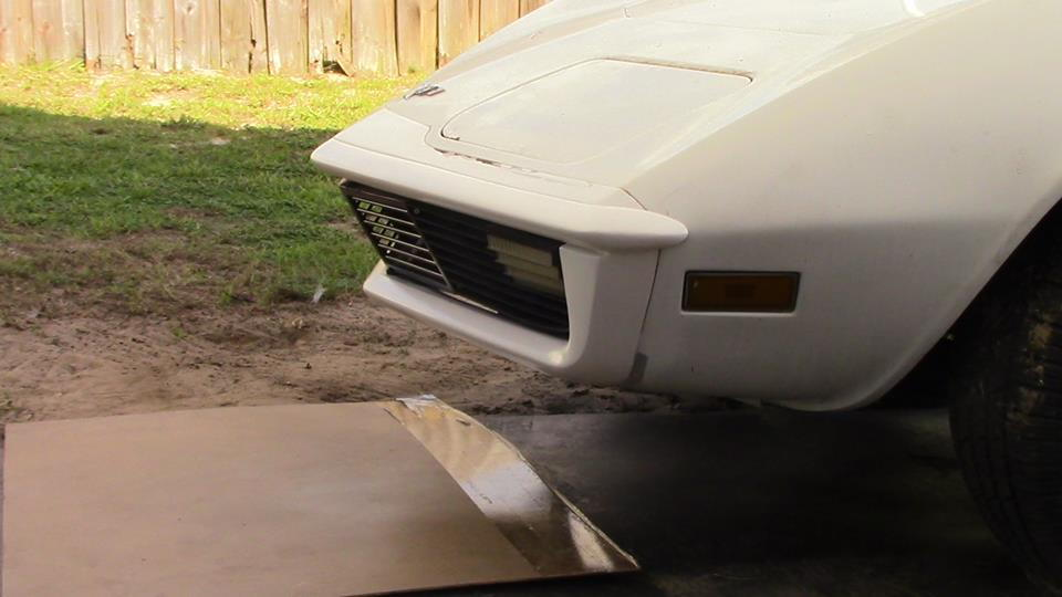 Aftermarket Late C3 Open Grill Front Bumpers Page 2