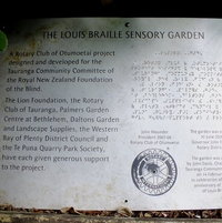The Louis Braille Sensory Garden