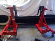 Went down to HF and got 2 of the 2000lb engine stands for $107.00 each.