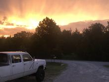 Arkansas sunrise
