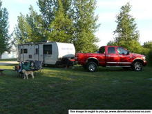 tow vehicle camping