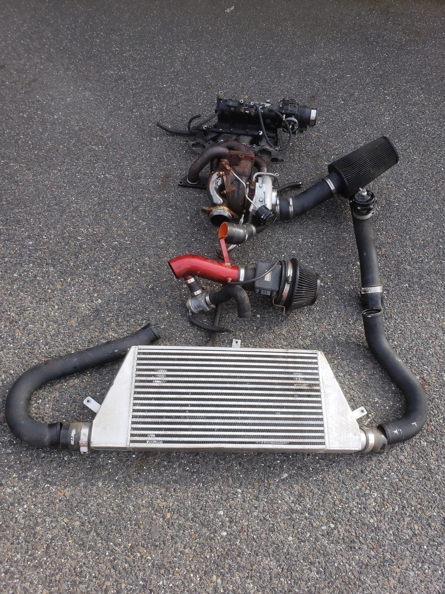 Cylinder head/ Turbo/ FMIC