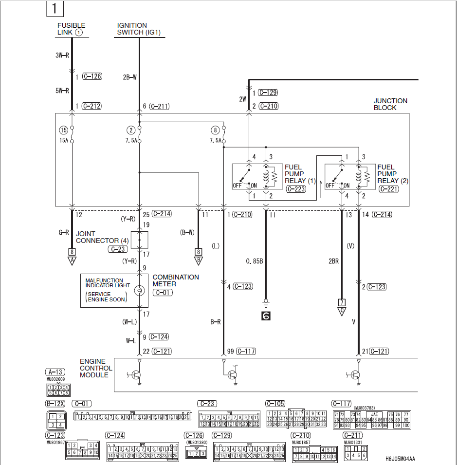 fuel issue unknown issue help page 2 evolutionm net mitsubishi referenced the same circuit in our discussion and stated it goes to the etacs circuit which leads me to believe i need to reference the first