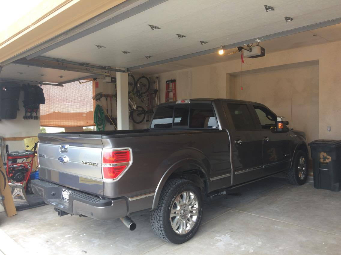 would you lift your truck if it meant it wouldn 39 t fit in the garage anymore page 3 ford. Black Bedroom Furniture Sets. Home Design Ideas