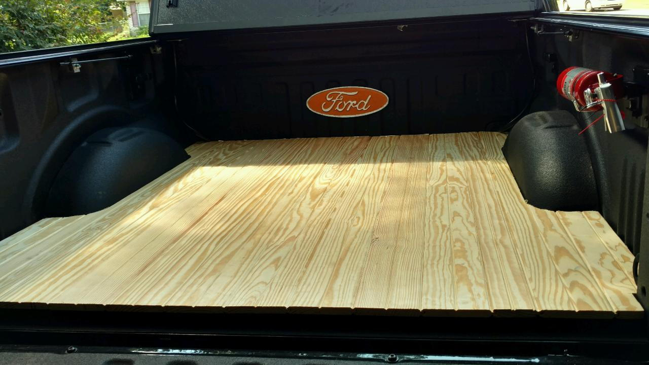 Diy Wood Bed Floor Page 3 Ford F150 Forum Community