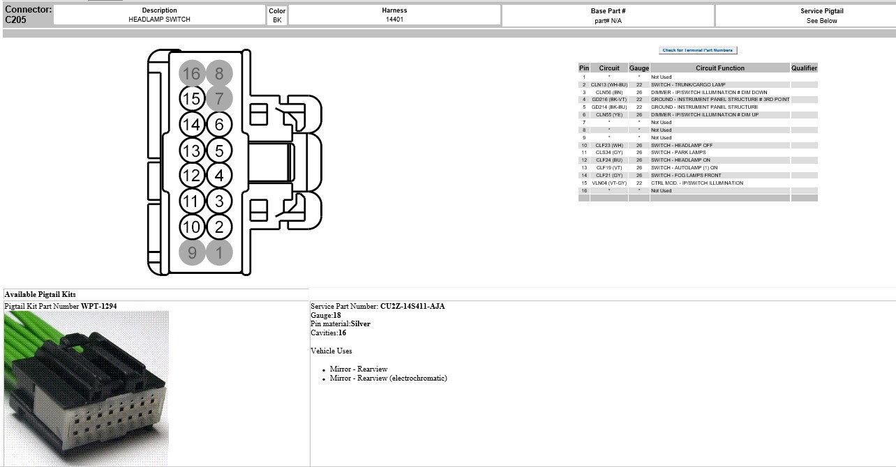 Fog Lights On Xl Please Help Ford F150 Forum Community Of 97 Headlight Switch Wiring Harness Plug Diagram Edit Added Connector