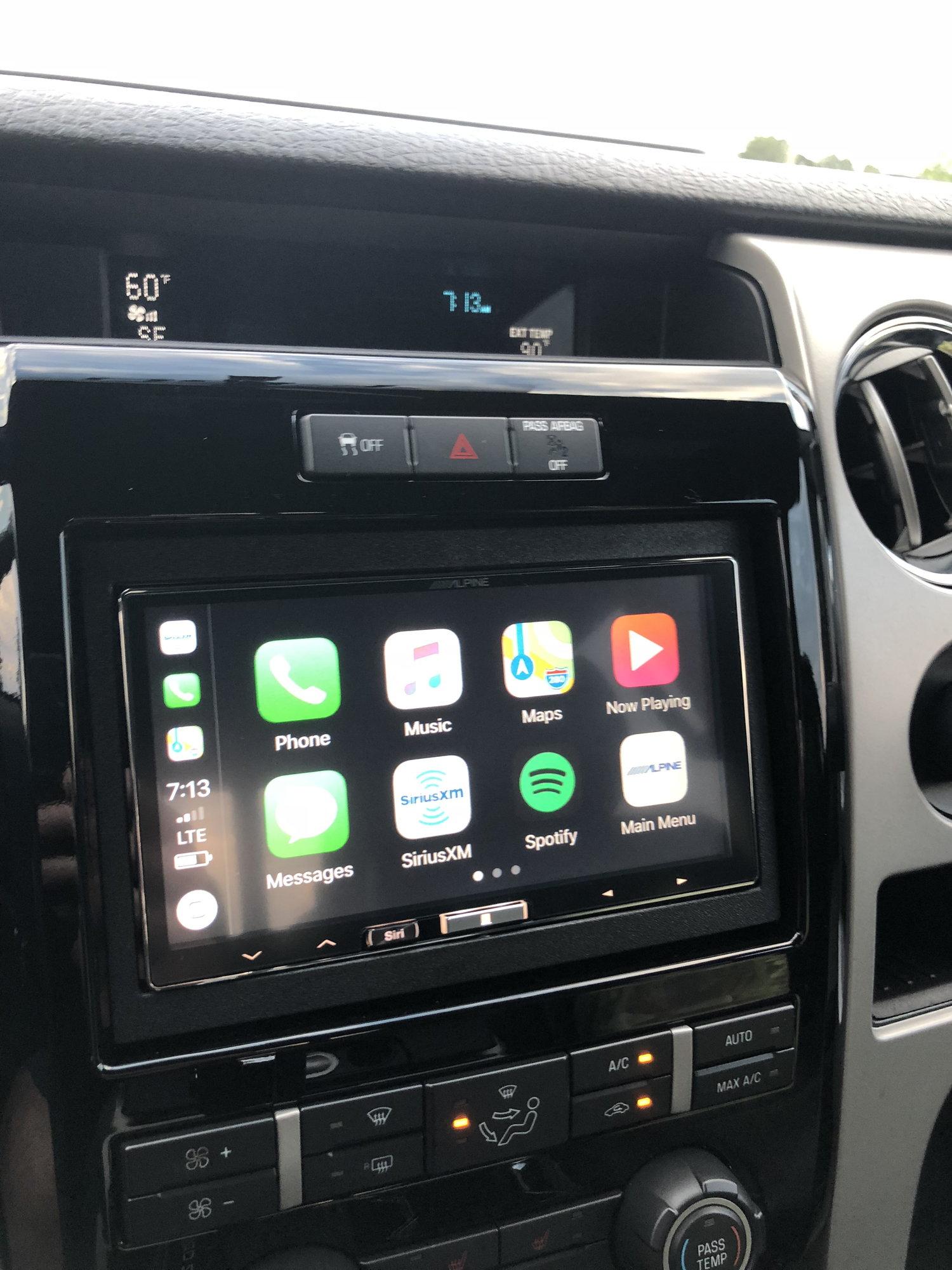 Alpine Ilx 107 Wireless Apple Car Play Ford F150 Forum