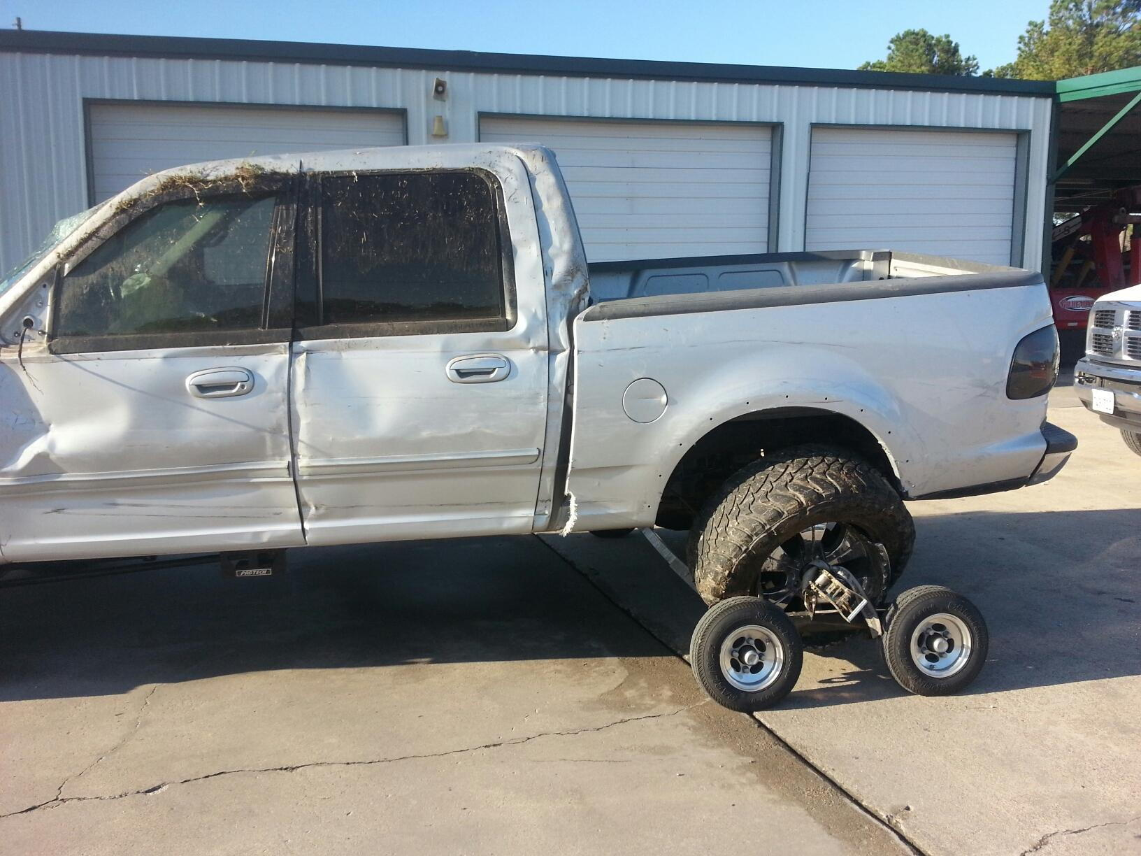 Ford F150 Wrecked >> Wrecked Truck... - Ford F150 Forum - Community of Ford Truck Fans
