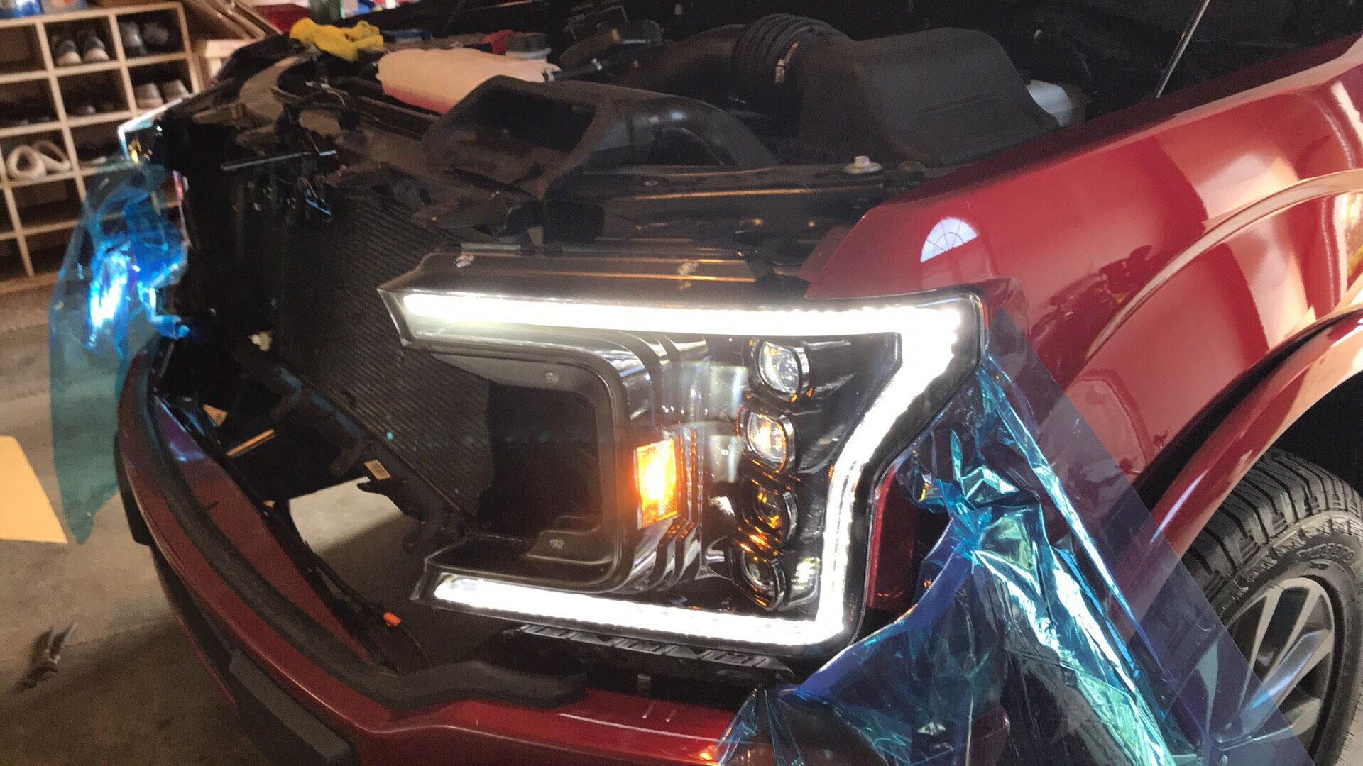 2018+ Morimoto XB LED headlights & fog lights installed