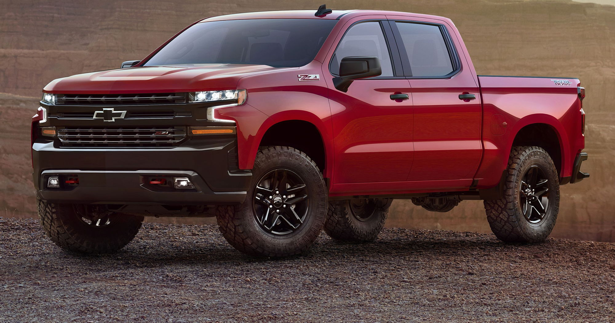 """Hmmm now we know what the new silverado """"Raptor"""" will look like"""