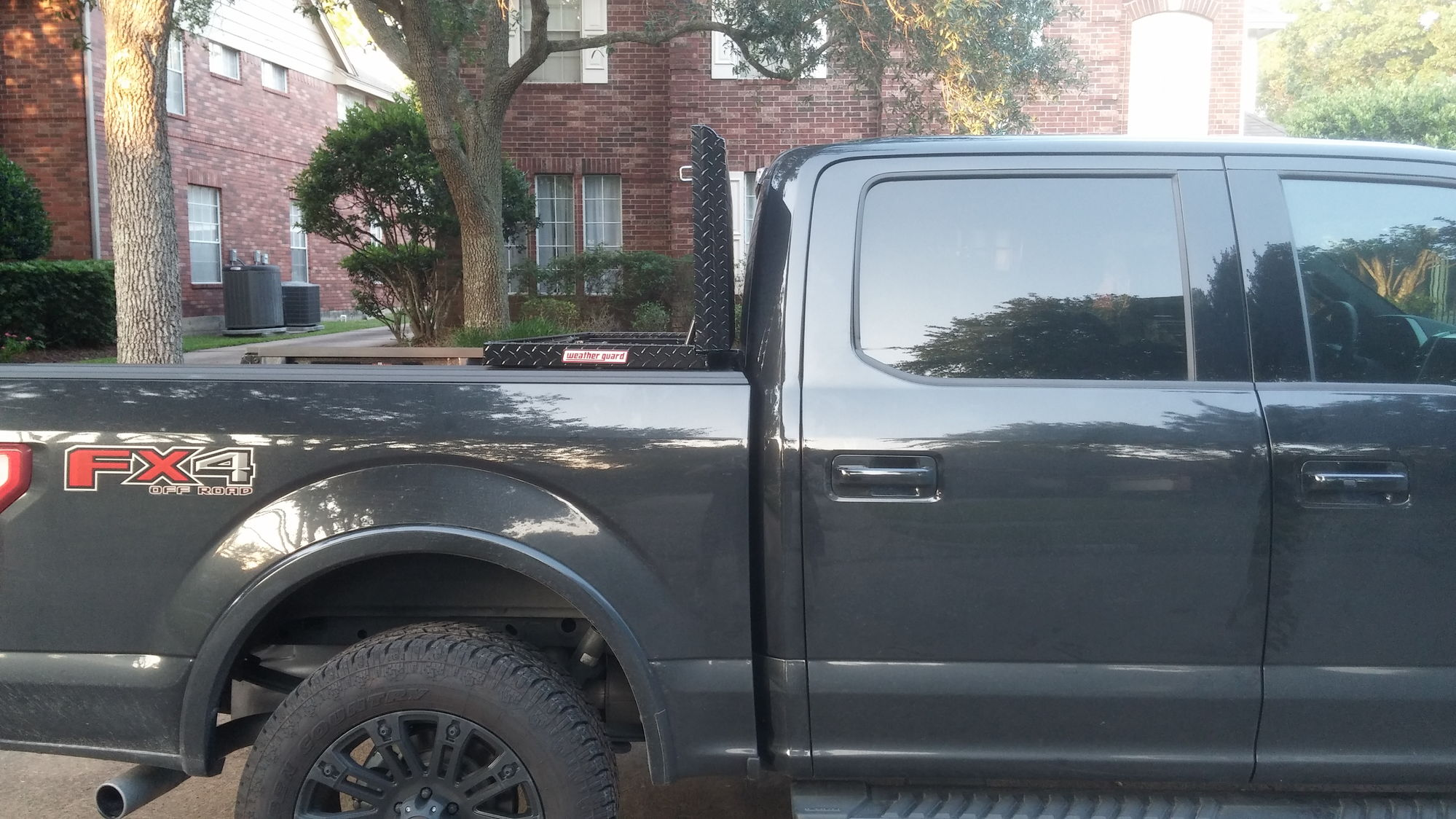 F150 Tool Box >> Low profile Weatherguard 121-5-01 on 2015 F150 - Ford F150 Forum - Community of Ford Truck Fans