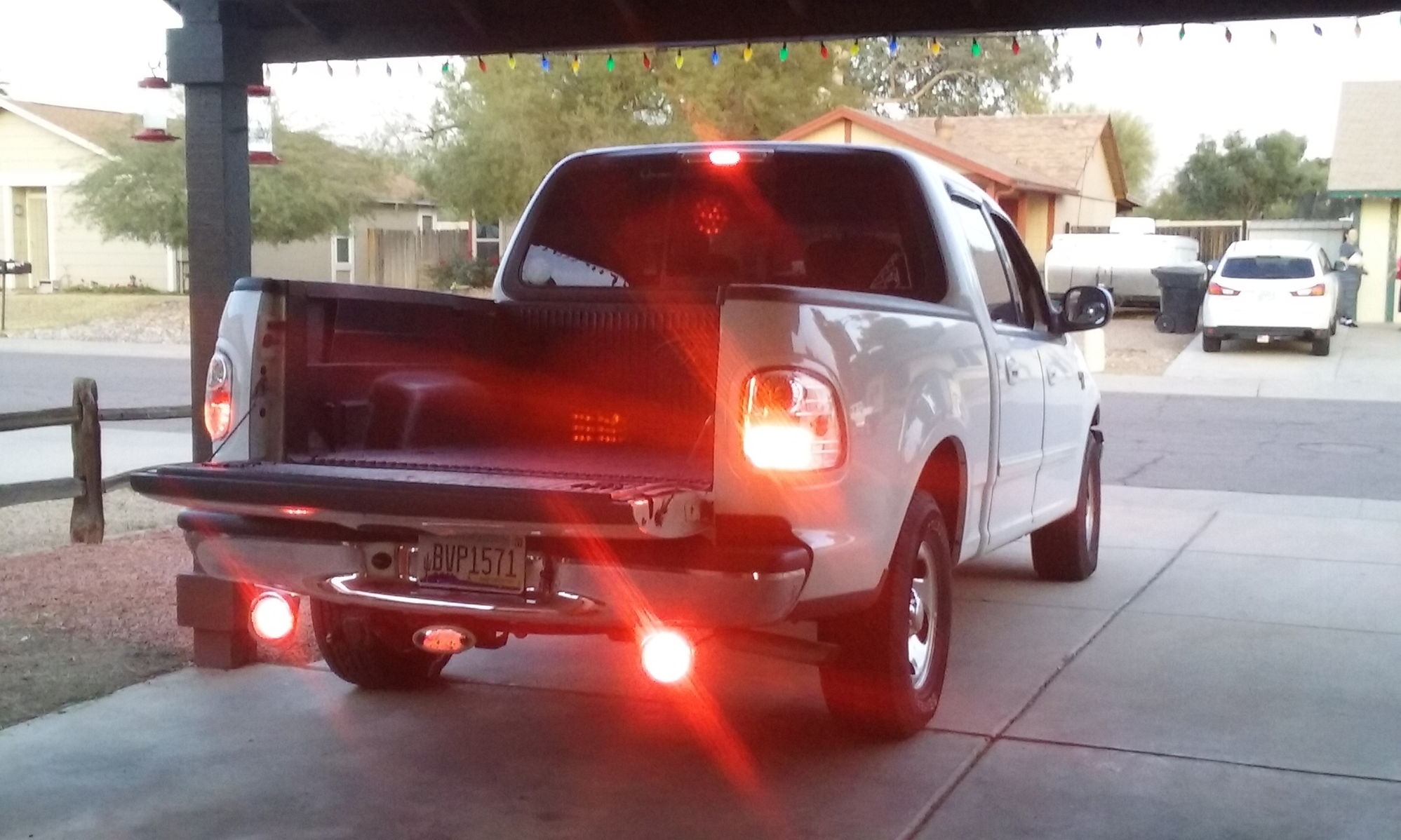 reverse light wiring in 2014 f150  for led light bar