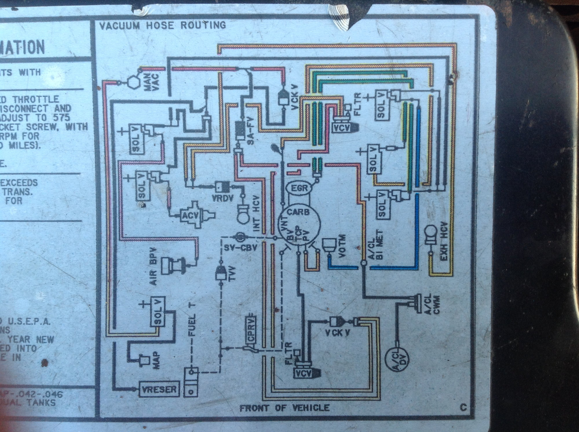 1990 Ford F 150 Vacuum Diagram On 1984 Ford F 150 5 0 Wiring Diagram