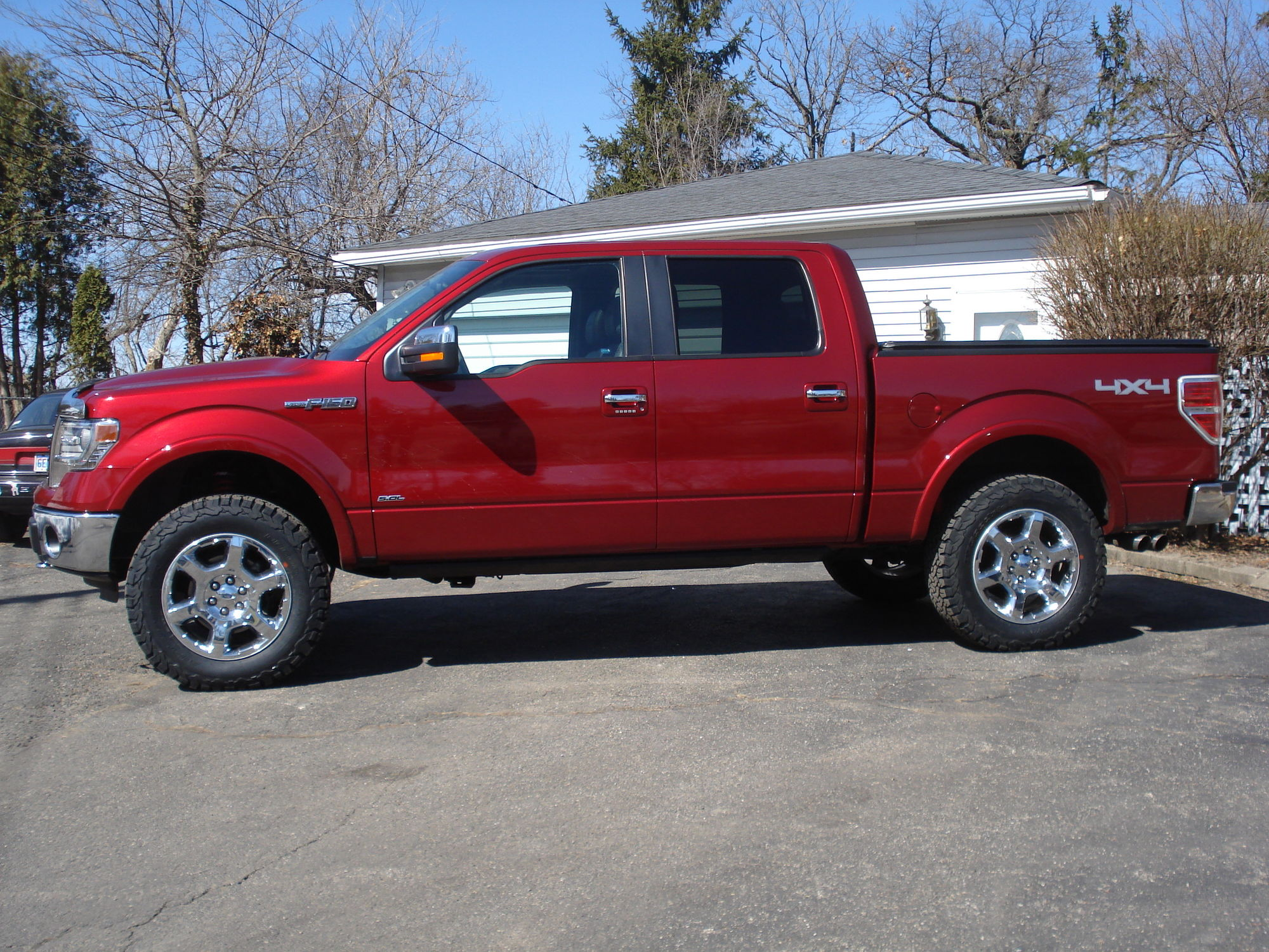 Let S See Some Oem Wheels With Big Tires Ford F150