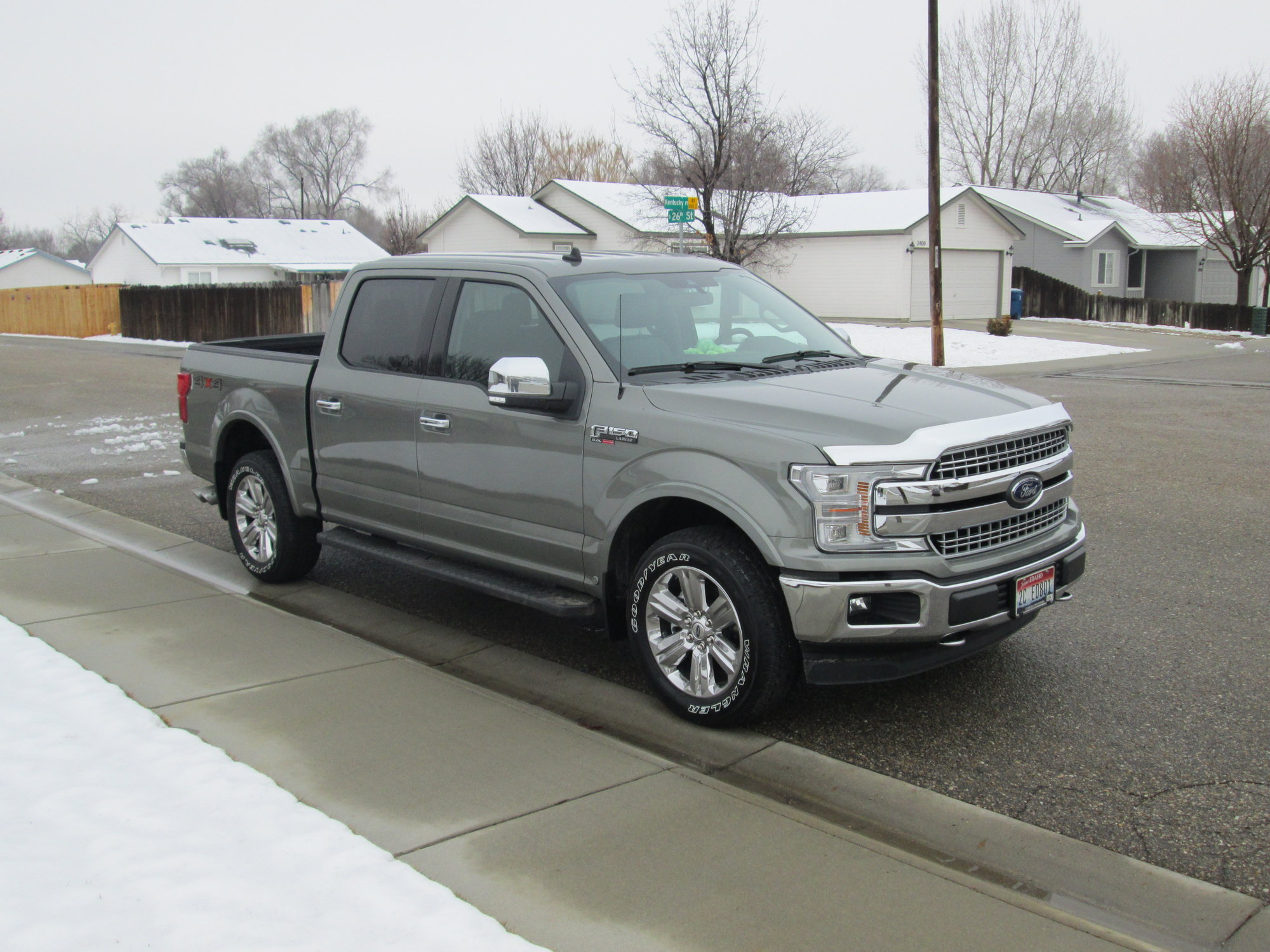 New 2019 F150 Lariat Silver Spruce Ford F150 Forum