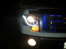 New headlights