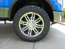 MB V-Drive Wheels & Nitto Trail Grapplers