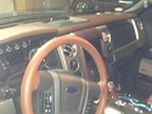 2013 King Ranch Interior