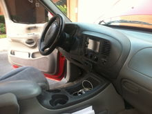 Expedition Center Console and Kenwood DDX419