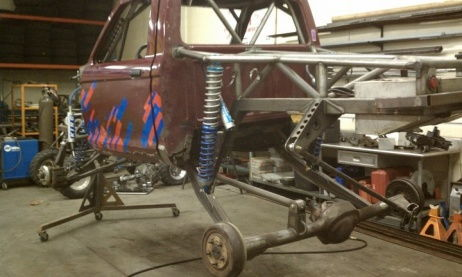 Basic frame and suspension built!