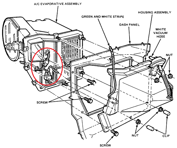 Blower Motor Wiring Diagram 1978 Mark