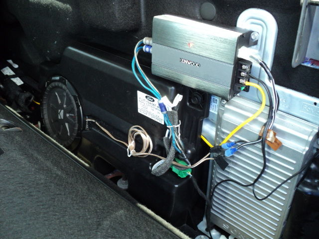 2015 Sony subwoofer mod, compact amp install - Ford F150 Forum ...