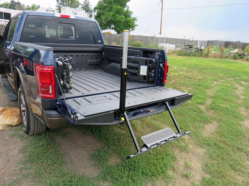 Truck Ramp Bed Extender