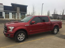 My new 2016 Ford F-150 Lariat FX4