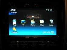 F150 HU install completed with sub-menue screen shot.