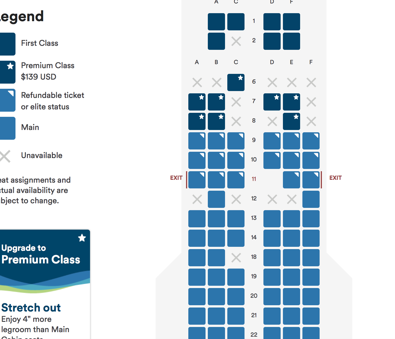 What Seat Map Is This Says Airbus