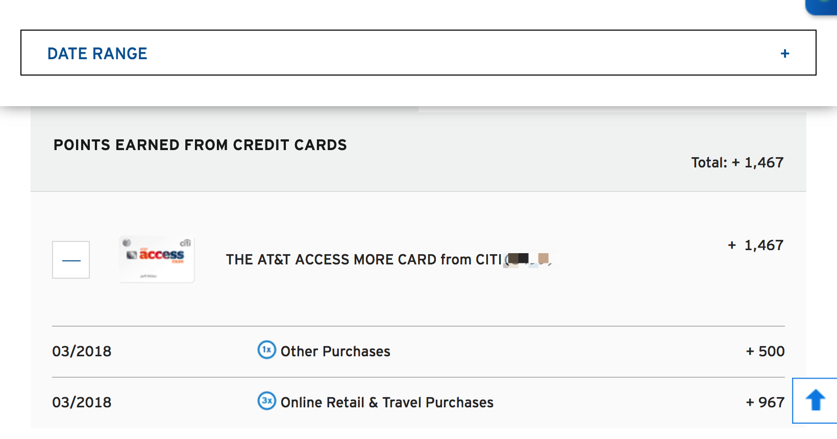 Citi AT&T Access More card (Discontinued) - Page 111