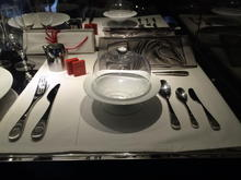 New tableware designed by Massaud and realized by Cristofle - impressive.