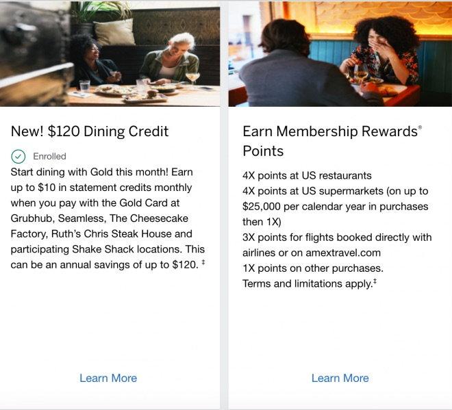 Premier Rewards Gold Refresh 4x Usa Dining Groceries 10