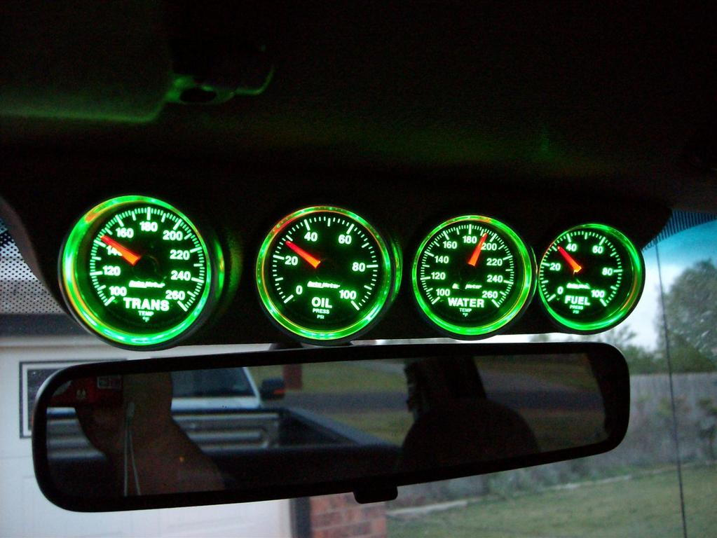 Autometer Gs Gauges In My V10 Ford Truck Enthusiasts Forums