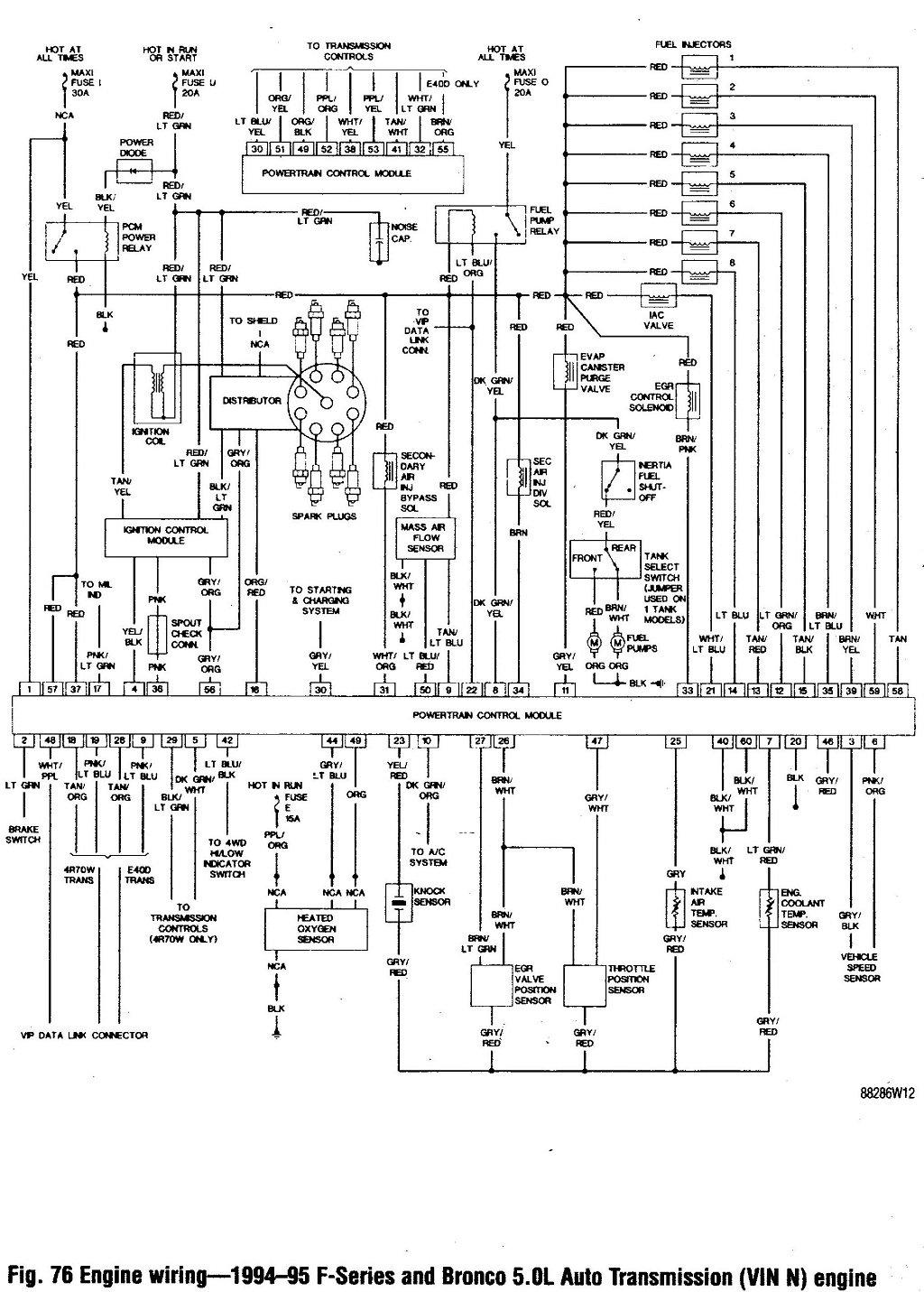 4r75w Parts Diagram Schematics 4f27e Wiring 4r70w Transmission Harness Terminations Will Be A Valve Body