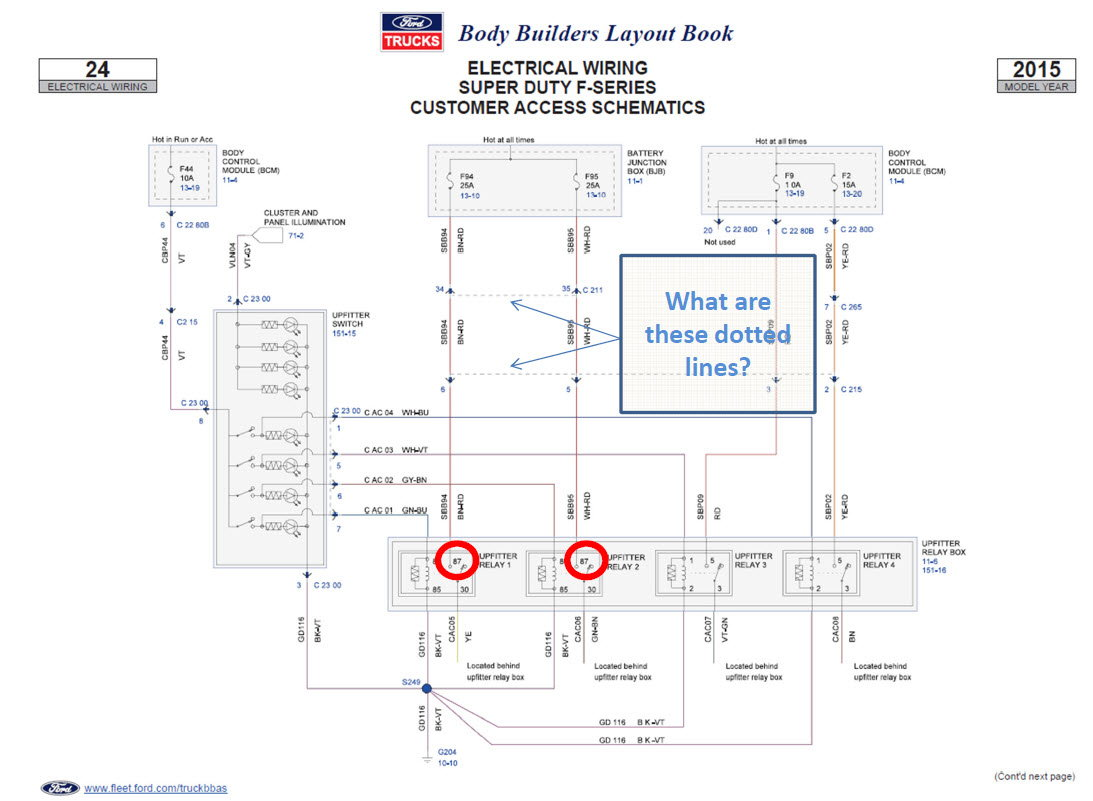 Diagram Super Duty Upfitter Switch Wiring Diagram