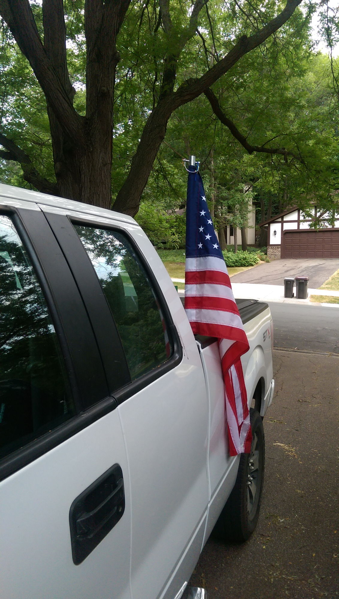 How to mount flag pole to bed of truck Ford Truck Enthusiasts Forums