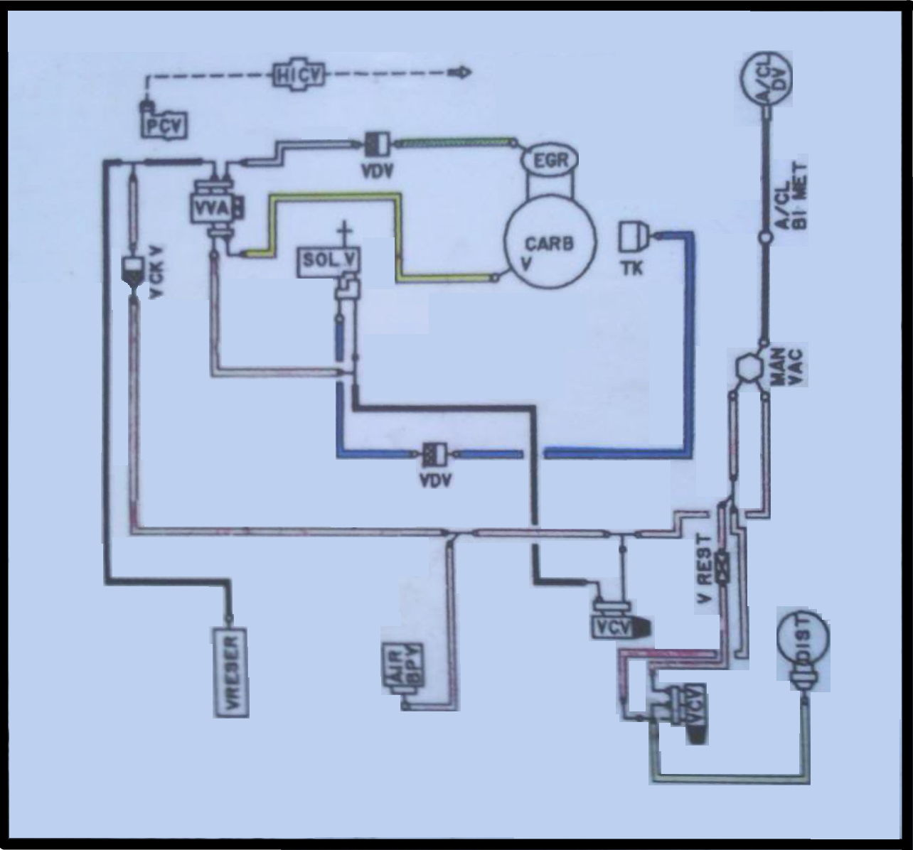 Looking For Vacuum Line Routing Diagram And I Have The