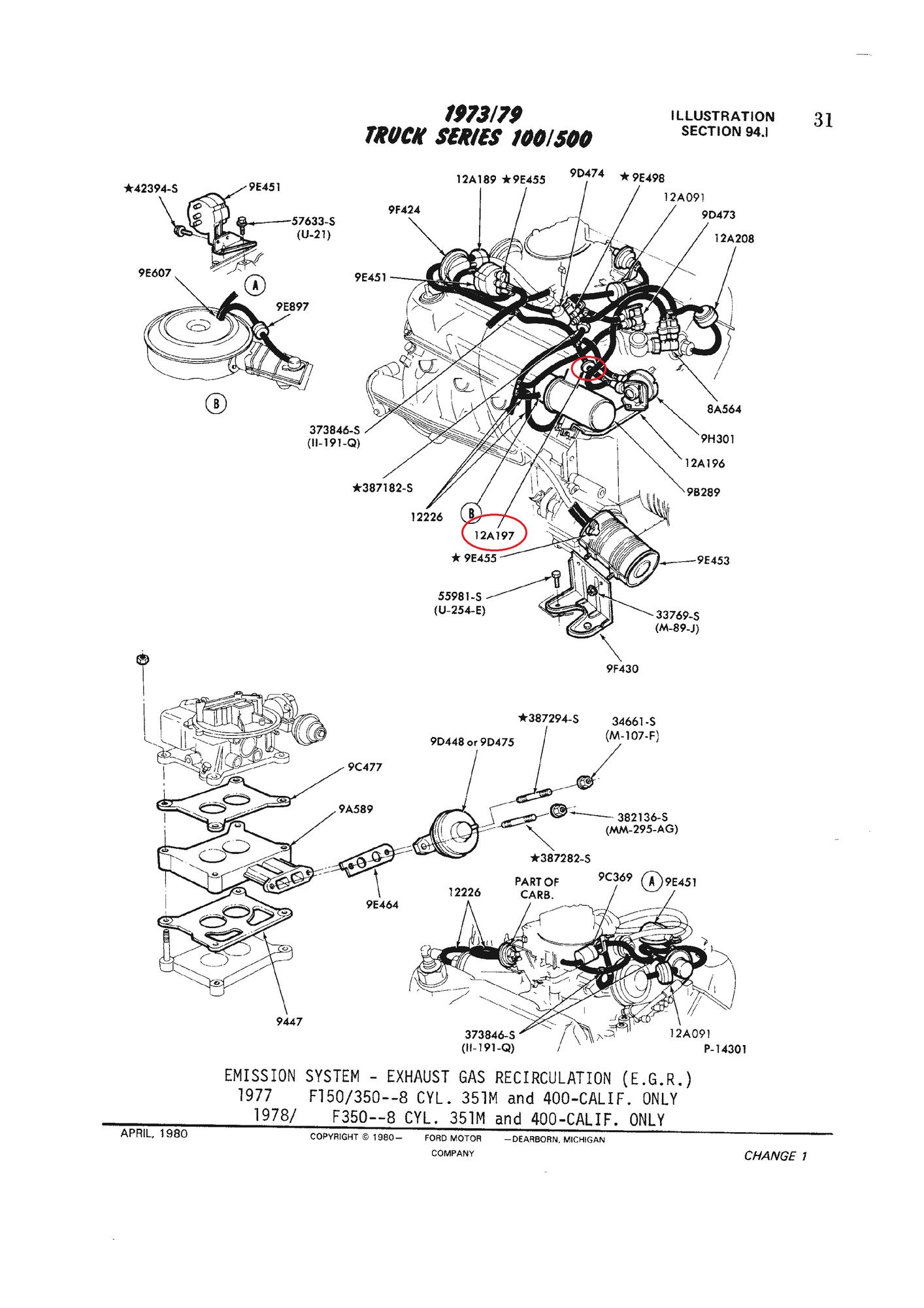 Vacuum Control Valve Question Part  12a197