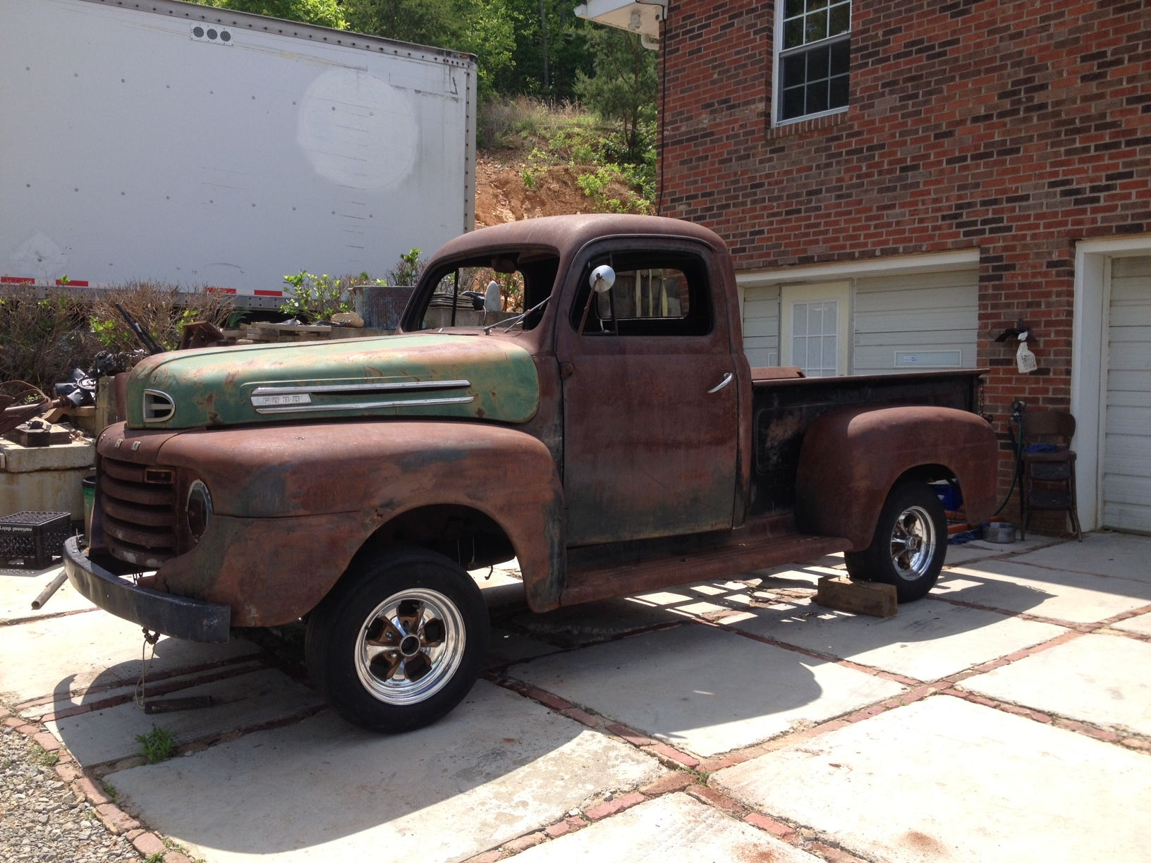 1949 F1 Solid Project For Sale 8000 Ford Truck