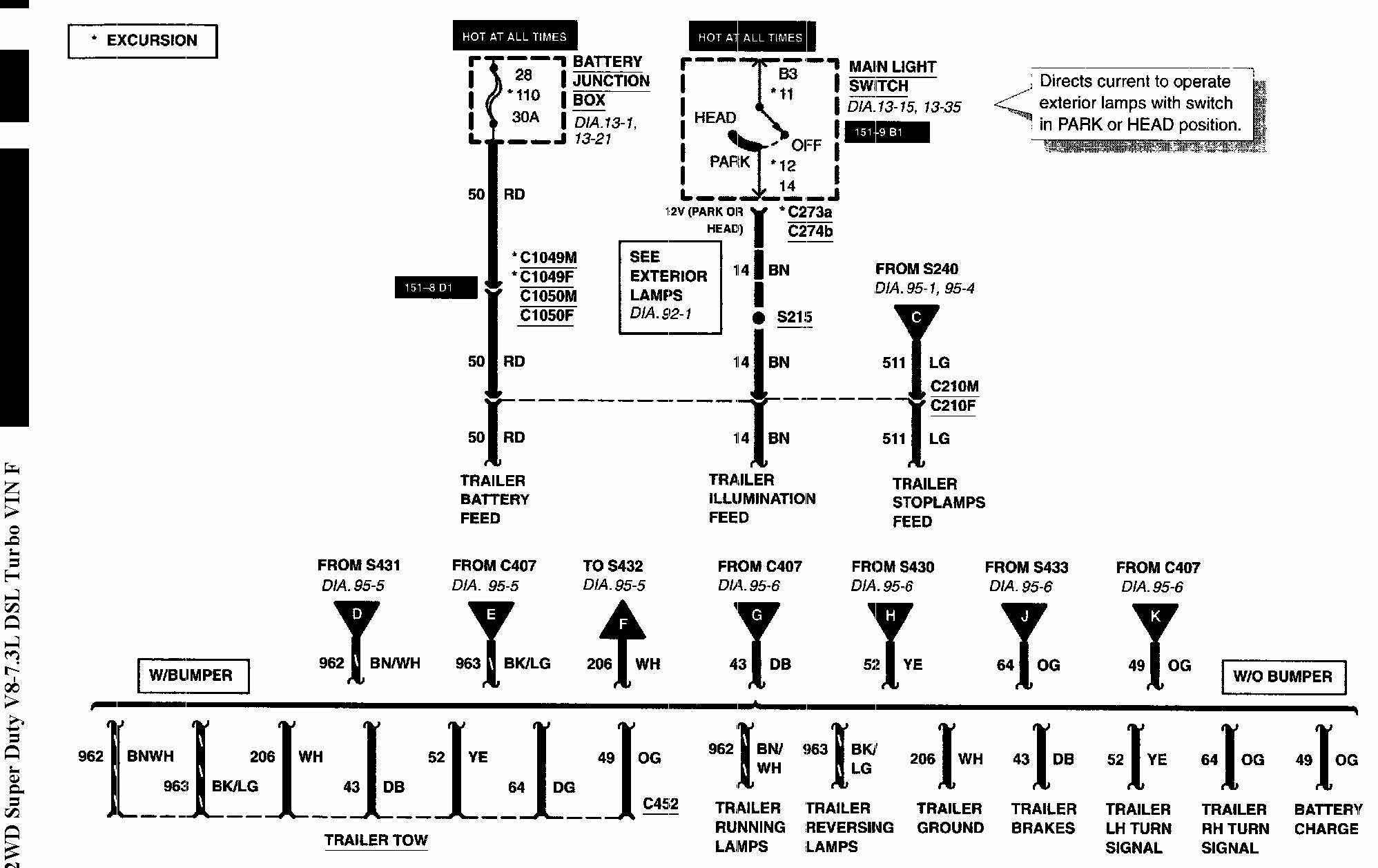 Knapheide Power Lock Wiring Diagram Johnson Volvo Workhorse Parking Light Wire Diagrams Fuse 16 Burns Out In 2min Ford Truck Enthusiasts